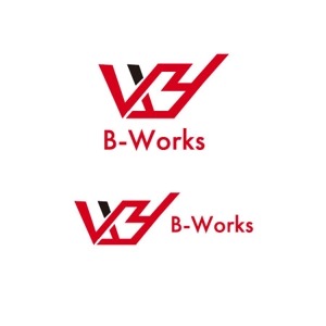 manmaru3さんの外壁塗装専門店 B-Works の会社ロゴ制作への提案