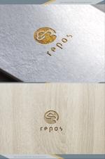 ldz530607さんのオーガニック化粧品サイト『repos』のロゴへの提案