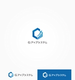 Cobalt_B1ueさんのIT化支援・システム開発会社「株式会社Gアップシステム」のロゴ作成依頼への提案