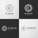 shishimarukoさんの初の自社ブランドマンション「ECREDE」のロゴ作成への提案