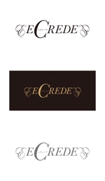 serve2000さんの初の自社ブランドマンション「ECREDE」のロゴ作成への提案