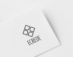 ue_taroさんの初の自社ブランドマンション「ECREDE」のロゴ作成への提案