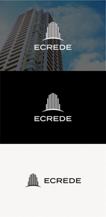 tanaka10さんの初の自社ブランドマンション「ECREDE」のロゴ作成への提案