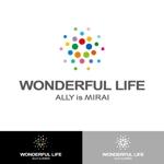 kojideins2さんのシャンプーなどを卸す会社「WONDEFRFUL LIFE Inc.」のロゴへの提案