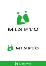 heavenillustさんのカフェ MIN@TO のロゴへの提案