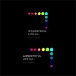 m2ukimchさんのシャンプーなどを卸す会社「WONDEFRFUL LIFE Inc.」のロゴへの提案