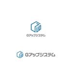 headdip7さんのIT化支援・システム開発会社「株式会社Gアップシステム」のロゴ作成依頼への提案