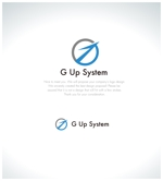 yamamoto19761029さんのIT化支援・システム開発会社「株式会社Gアップシステム」のロゴ作成依頼への提案