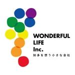 nakagawaikoさんのシャンプーなどを卸す会社「WONDEFRFUL LIFE Inc.」のロゴへの提案