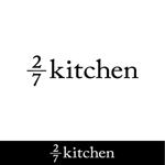 kh14さんのサンドウィッチショップ「2/7kitchen(ななぶんのにきっちん)」のロゴへの提案