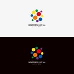 solographicsさんのシャンプーなどを卸す会社「WONDEFRFUL LIFE Inc.」のロゴへの提案