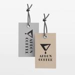 tsukasa110さんのブランドの商品タグに使用するロゴデザインへの提案