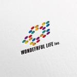 dakirさんのシャンプーなどを卸す会社「WONDEFRFUL LIFE Inc.」のロゴへの提案