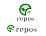 eiji_hasegawaさんのオーガニック化粧品サイト『repos』のロゴへの提案