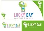 sante3さんのコインランドリー「LUCKY DAY」のロゴへの提案