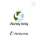 mu_chaさんのコインランドリー「LUCKY DAY」のロゴへの提案