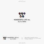hinotoriさんのシャンプーなどを卸す会社「WONDEFRFUL LIFE Inc.」のロゴへの提案