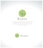 yamamoto19761029さんのオーガニック化粧品サイト『repos』のロゴへの提案