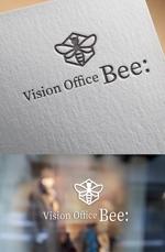 コアーキングスペースのVision Office Bee:のロゴマークへの提案