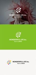 tanaka10さんのシャンプーなどを卸す会社「WONDEFRFUL LIFE Inc.」のロゴへの提案