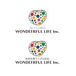 calimboさんのシャンプーなどを卸す会社「WONDEFRFUL LIFE Inc.」のロゴへの提案