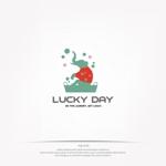 mg_webさんのコインランドリー「LUCKY DAY」のロゴへの提案