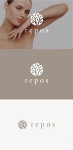 tanaka10さんのオーガニック化粧品サイト『repos』のロゴへの提案