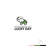 sakari2さんのコインランドリー「LUCKY DAY」のロゴへの提案