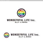 cambelworksさんのシャンプーなどを卸す会社「WONDEFRFUL LIFE Inc.」のロゴへの提案