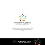 VEROさんのシャンプーなどを卸す会社「WONDEFRFUL LIFE Inc.」のロゴへの提案