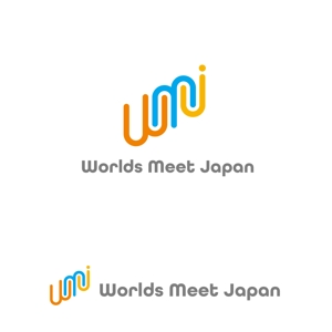 marutsukiさんのはこだて国際民俗芸術祭主催「ワールズ・ミート・ジャパン」のロゴマークおよびロゴタイプの制作への提案