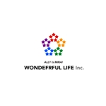 blue-3さんのシャンプーなどを卸す会社「WONDEFRFUL LIFE Inc.」のロゴへの提案