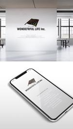 skliberoさんのシャンプーなどを卸す会社「WONDEFRFUL LIFE Inc.」のロゴへの提案