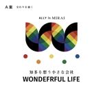 reisyoさんのシャンプーなどを卸す会社「WONDEFRFUL LIFE Inc.」のロゴへの提案
