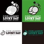 tattsu0812さんのコインランドリー「LUCKY DAY」のロゴへの提案