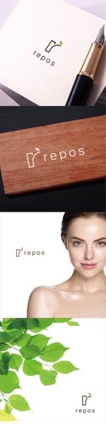 chapterzenさんのオーガニック化粧品サイト『repos』のロゴへの提案