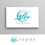 White-designさんのオーガニック化粧品サイト『repos』のロゴへの提案