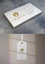 kndworking_2016さんのオーガニック化粧品サイト『repos』のロゴへの提案
