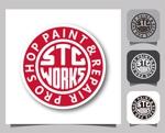 Silver_Designさんの輸入車専門店が出店するアメ車好きの板金塗装ショップのロゴへの提案