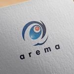 zasshedesignさんのAIサービスの「arema」ロゴ作成への提案