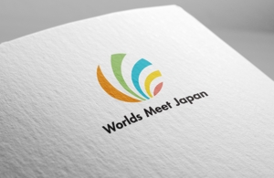 fujiseyooさんのはこだて国際民俗芸術祭主催「ワールズ・ミート・ジャパン」のロゴマークおよびロゴタイプの制作への提案