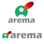 tattsu0812さんのAIサービスの「arema」ロゴ作成への提案