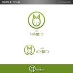 minami-mi-natzさんのカフェ MIN@TO のロゴへの提案