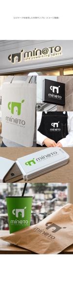 kinryuzanさんのカフェ MIN@TO のロゴへの提案