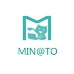 minagirura27さんのカフェ MIN@TO のロゴへの提案