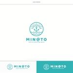 DeeDeeGraphicsさんのカフェ MIN@TO のロゴへの提案