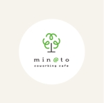 kuri_kuriさんのカフェ MIN@TO のロゴへの提案