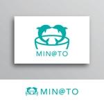 White-designさんのカフェ MIN@TO のロゴへの提案