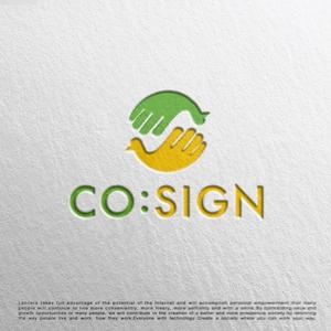 tog_designさんのコワーキングスペース「CO:SIGN」のロゴへの提案
