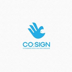 l_golemさんのコワーキングスペース「CO:SIGN」のロゴへの提案